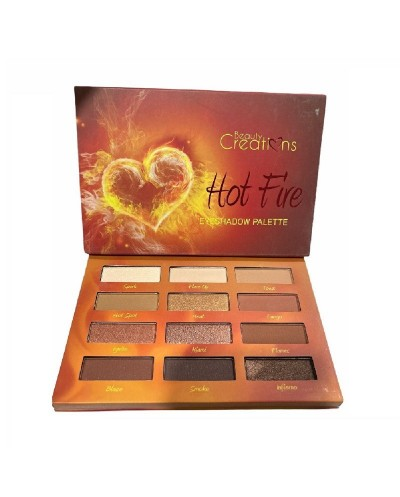 Paleta de Sombras Hot Fire...