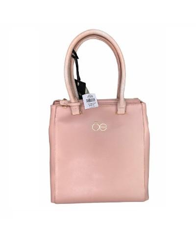 Bolsa grande color rosa...