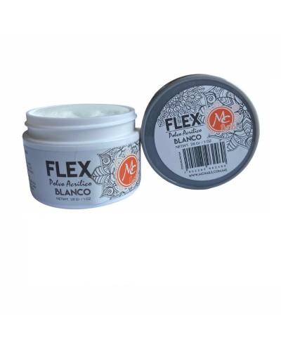 Flex Polvo Acrílico Blanco...