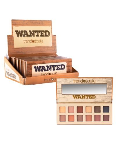 Paleta de Sombras Wanted -...